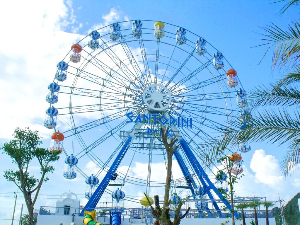 La grande roue du Santorini Park