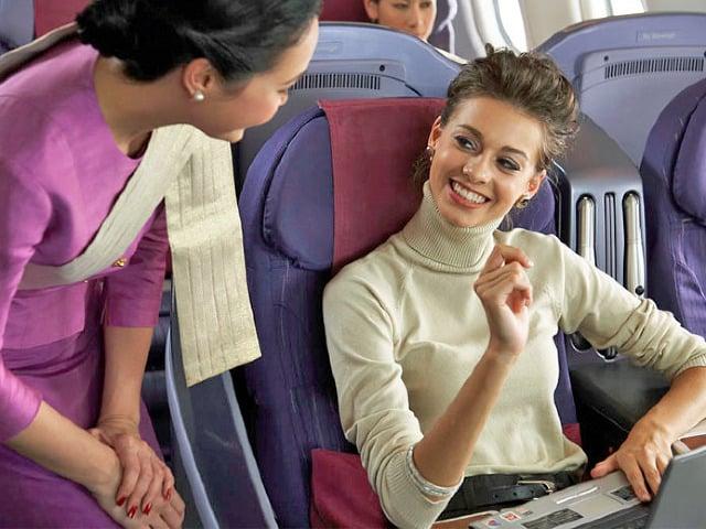 Internet et téléphone dans tous les avions Thai Airways