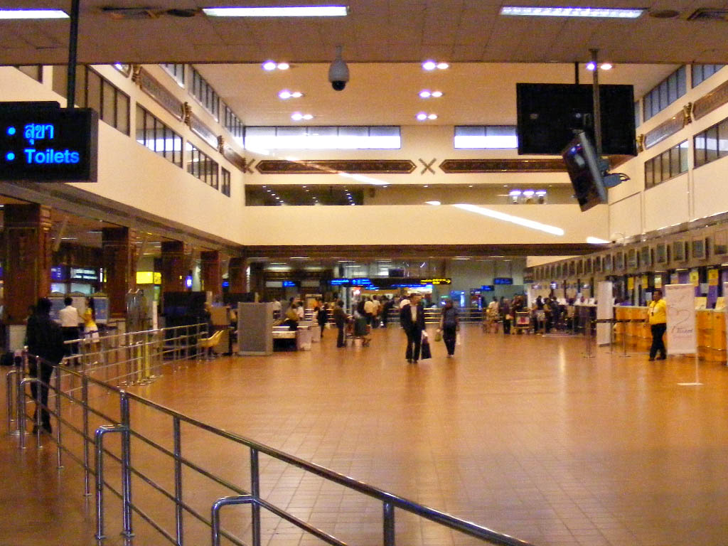L'aéroport de Don Mueang