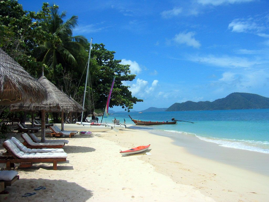 Plage sur l'île de Koh Bon