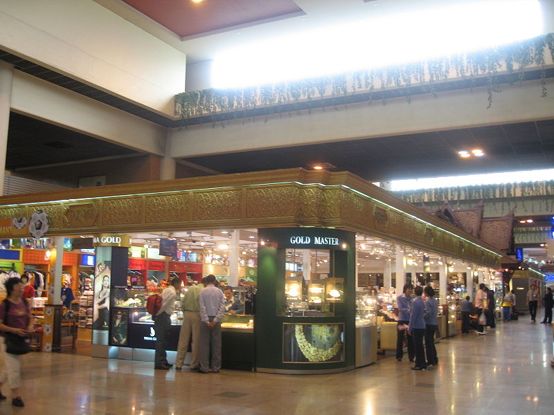 Duty Free de l'aéroport Don Mueang