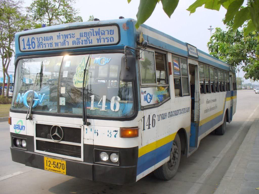 Bus Mercedes à Bangkok