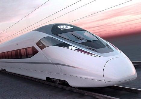Le train grande vitesse thaïlandais