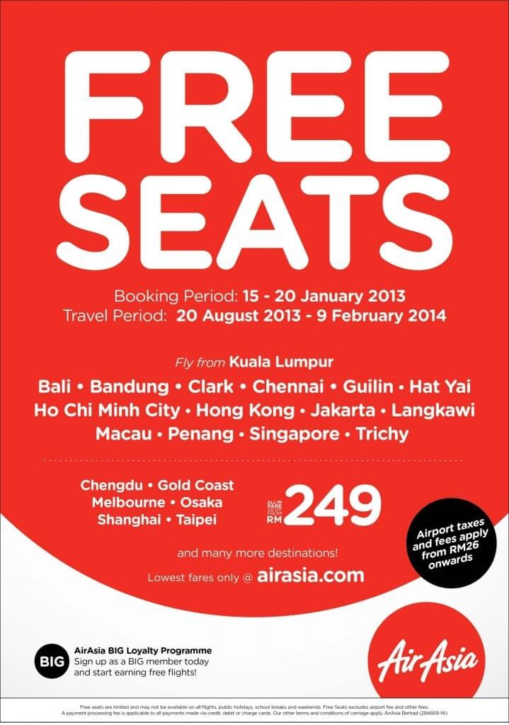 Offre promotionnelle d'AirAsia