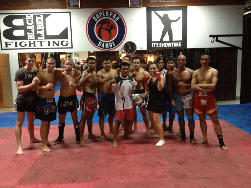 Camp de Muay Thai