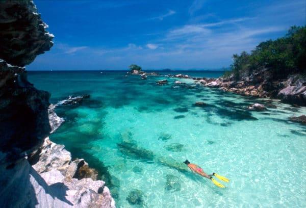 La beauté des îles Similan