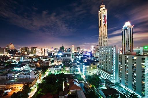 Bangkok ville nocturne