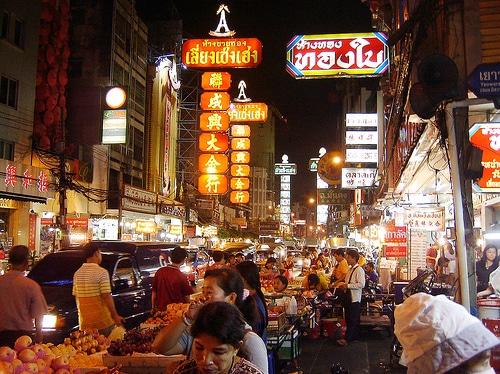 Chinatown le soir