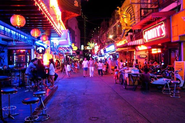 Quartier branché Bangkok