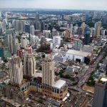Vue du ciel sur Bangkok