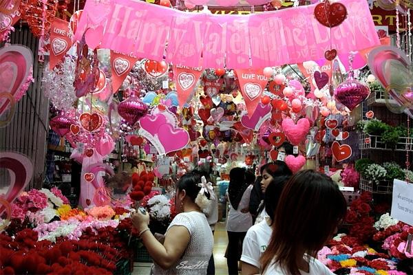 St Valentin à Chinatown