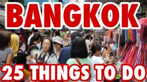 25 choses incroyables à faire à Bangkok