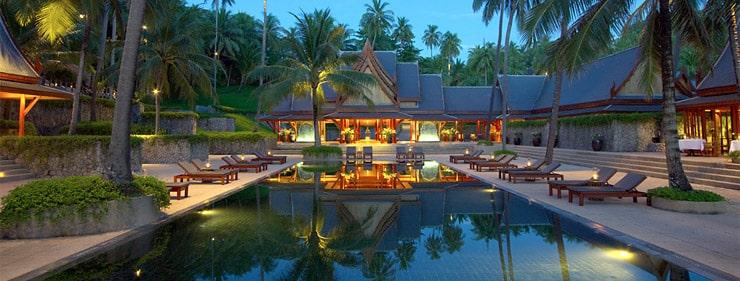 Hôtel de luxe en Thaïlande
