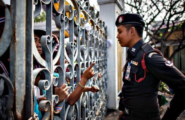 montrer du doigt en thailande