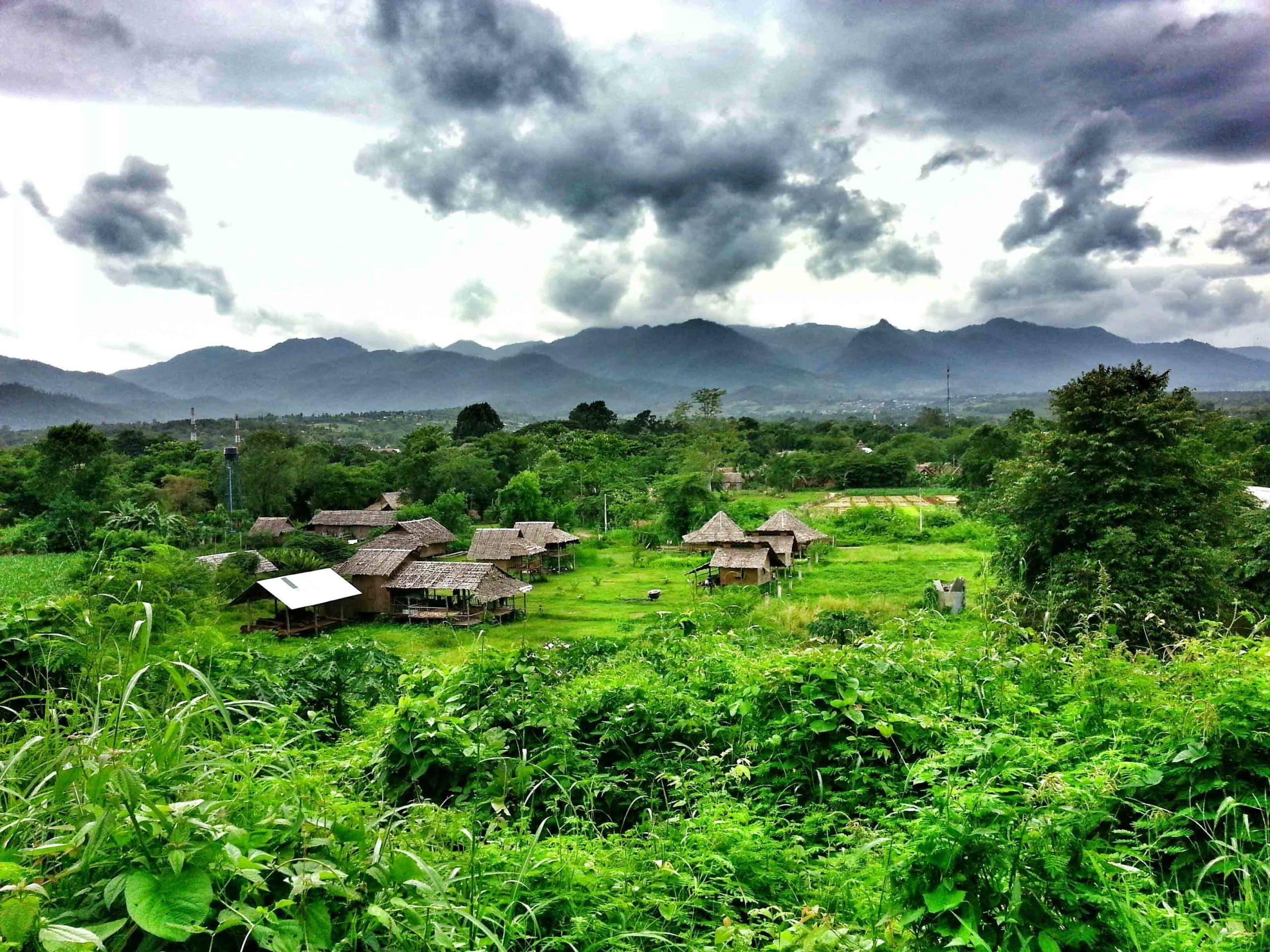 voyager pai dans le nord de la thailande. Black Bedroom Furniture Sets. Home Design Ideas