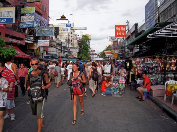 Thailande - Bangkok - Khao San Road