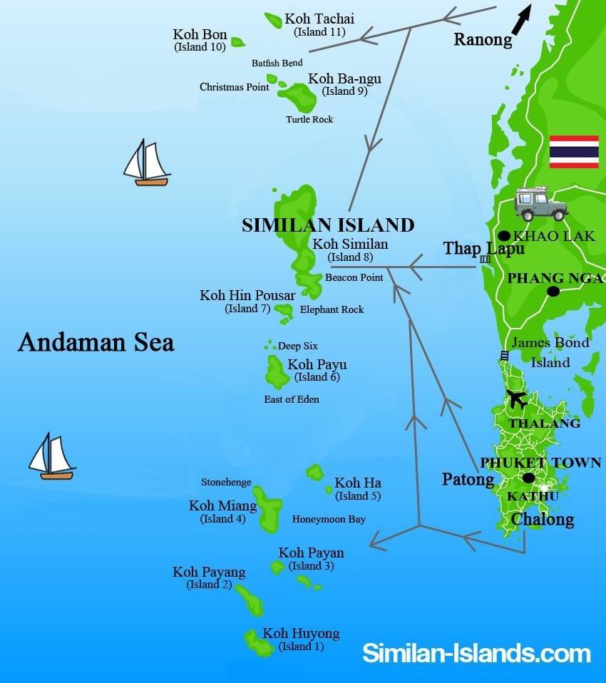 """Résultat de recherche d'images pour """"îles similans"""""""