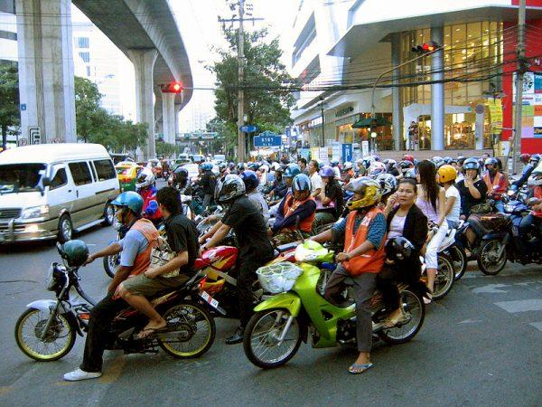Taxi Moto à Siam