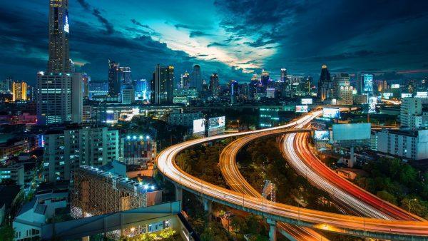 Bangkok ville animée