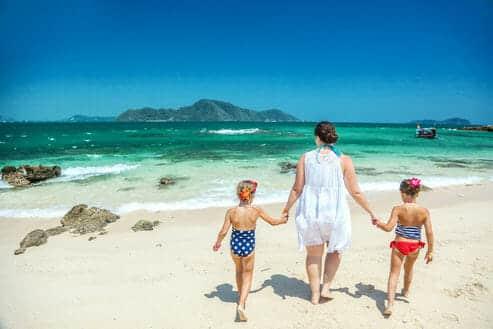 Vacances en famille en Thailande