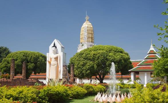 Temple Wat Phra si rattan