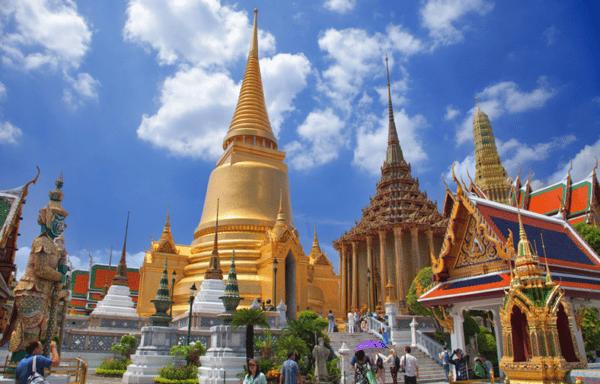 Le temple Wat Phra Kaew