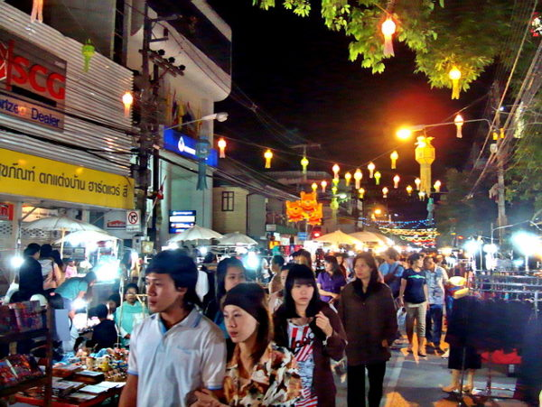 Le marché de nuit ou night bazar