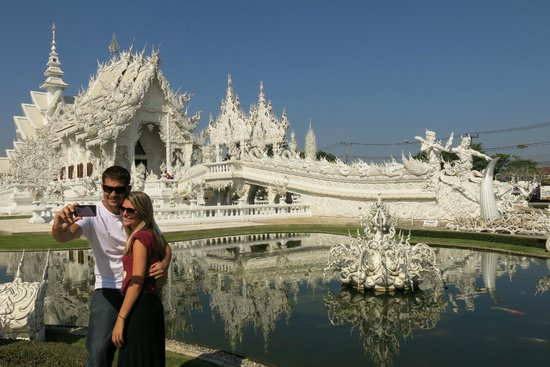 Le temple blanc Wat Rong Khun