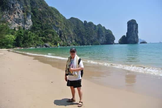 La plage d'Ao Nang