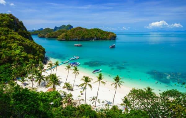îles paradisiaques de Thaïlande