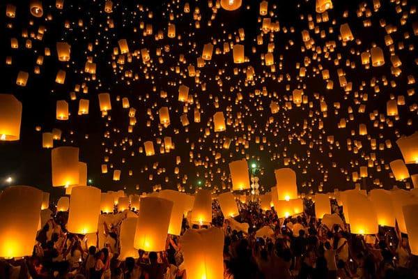le festival des lanternes