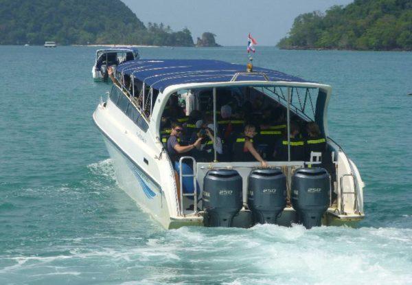 Koh Mak Speed boat