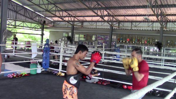 entrainement boxe muay thai