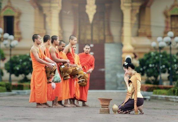 Moine thailandais