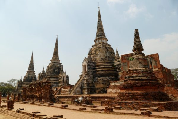 ancienne capitale d'Ayutthaya