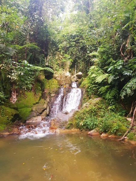 Les cascades de wang sao thong