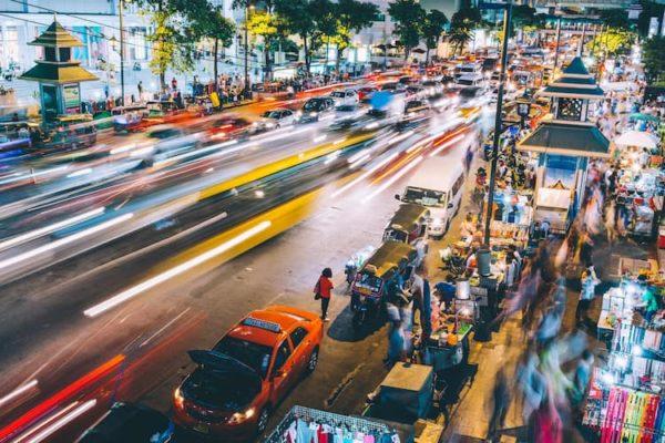 trafic thailande