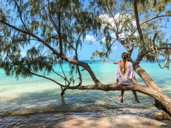 Ile paradisiaque en Thailande